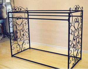Stainless Steel Metal Garment Supermarket Display Clothes Rack pictures & photos