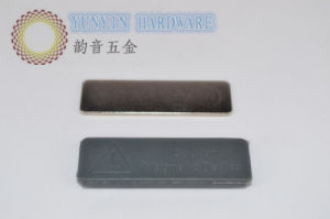 Plastic Coated Magnet Name Badge with 2PCS NdFeB Magnets