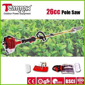 Teammax 26cc Good Price Petrol Pole Pruner pictures & photos