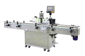Automatic Round Bottle Positioning Labeling Machine pictures & photos