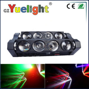 Guangzhou Baiyun District Hot Sale 8*10W Spider LED Moving Head Beam Light with Ce RoHS pictures & photos
