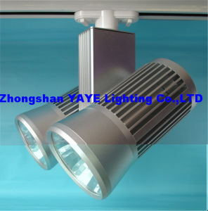 Yaye Hot Sell CE/RoHS 40W COB LED Track Light / COB LED Track Lighting with Warranty 3 Years pictures & photos