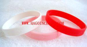 Customized Colorful Silicone Rubber Wristband