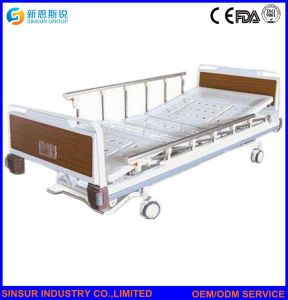 Medical Equipment Luxury Electric Three Crank Hospital Ward Use Bed pictures & photos