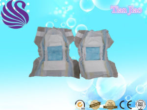 Baby Diapers with Adjustable Magic Tape pictures & photos