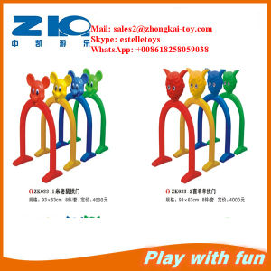 Indoor Playground Plastic Arch Door for Children pictures & photos