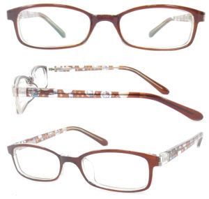 Hot Sale Fake Acetate Cp Injection Optical Frame pictures & photos