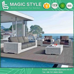 High Quality Sofa Set Outdoor Wicker Sofa Garden Modern Sofa Set Rattan Sofa Set (Magic Style) pictures & photos