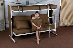 Children Bunk Folding Sofa Bed From Ikea (F138-B) pictures & photos