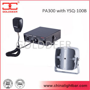 100W Electronic Siren Series with Slim Loud Speaker (PA300) pictures & photos