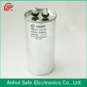 High Quality Cbb65 Oval Aluminum Run Capacitor pictures & photos