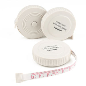 1.8m New Hot Product Plastic White Round Personalized Tape Measure pictures & photos