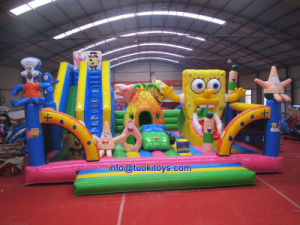Commercial Inflatable Bouncer Castle with Cartoons (TK-060) pictures & photos