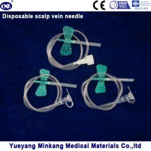 Disposable Scalp Vein Needle 21g (ENK-TPZ-015) pictures & photos