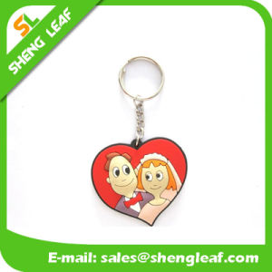 Custom Promotion Gifts Rubber Key Ring Product (SLF-KC008) pictures & photos