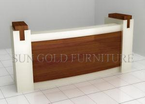 Hot Sale Wooden Office Rectangle Reception Desk (SZ-RT029) pictures & photos