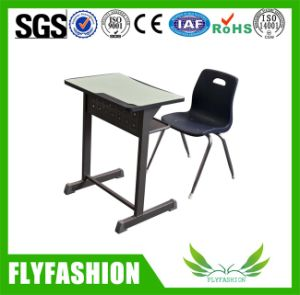 Durable School Furniture Single Desk and Chait (SF-37S) pictures & photos