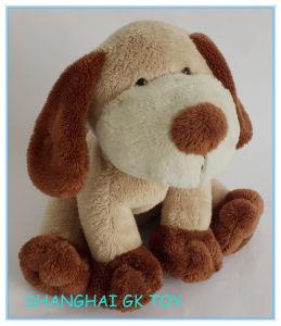 Super Soft Cute Plush Sitting Dog pictures & photos