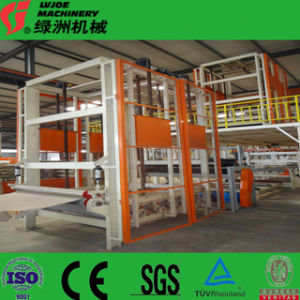 Hot Air Drying Type Gypsum Board Production Machine pictures & photos