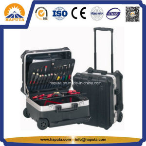 Rolling Tool Trolley Aluminum Box with Palette (HT-5102) pictures & photos