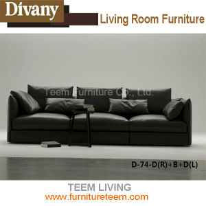 Sofa Living Divani Sofa for Projects pictures & photos