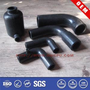 Customized Black PVC Plastic Machining Tube pictures & photos