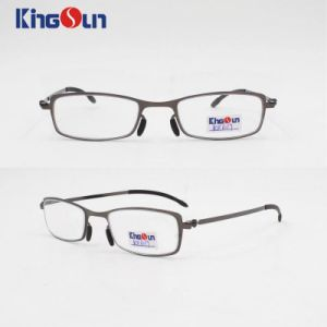 Steel Frame and Temple Fashion Style Reading Glasses pictures & photos