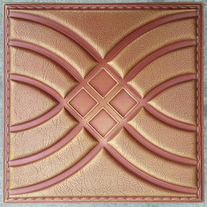 Luxury 3D PU Leather Wall Panel for Decoration (HS-MK007) pictures & photos