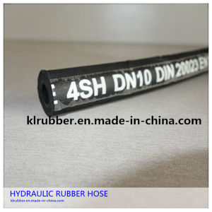 High Pressure Hydraulic Rubber Hose for Air and Oil pictures & photos