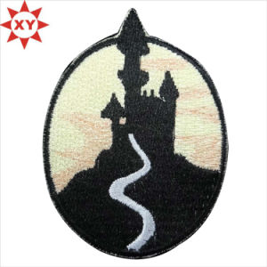 Factory Directly Sale Custom Embroidery Badges (XY-MXL73002) pictures & photos