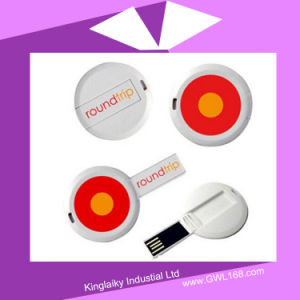USB Flash Drive in Round Ku-022 pictures & photos