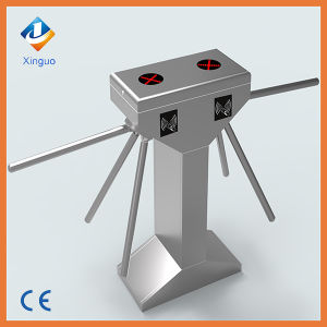 Automatic Drop Arms Tripod Turnstile Fingerprint Turnstile for Bus Station pictures & photos