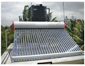 Solar Water Heater for Home Use pictures & photos
