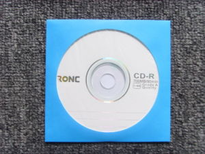 100g Blank CD DVD Paper Sleeve pictures & photos