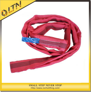 Hot Sale High Quality Polyester Round Slings (NHRS) pictures & photos