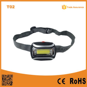T02 The Best Factory Cheap COB High Power LED Headlamp with Bright LED Light pictures & photos