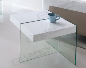 Noval MDF Glass Coffee Table of Factory Price pictures & photos