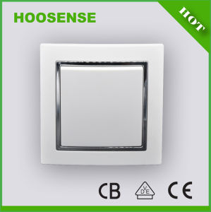 Good Switch Hoosense Electrical Appliance Manufacturing 1 Gang 1 Way Switch
