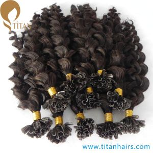 Wholesale Indian Remy Pre Bonded U Tip Human Hair pictures & photos