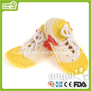 Loofah Pet Toys, Loofah Shoes Toys for Dog and Cat (HN-PT445) pictures & photos