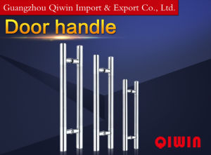 Stainless Steel Door Handle with Middle Satin Pull Handle (DH-8037) pictures & photos