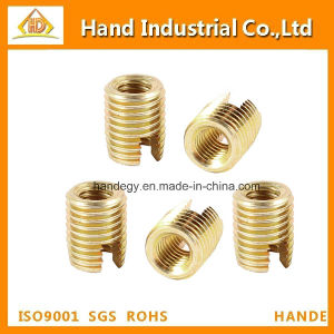 Brass Tone Self Tapping Threaded Inserts Nut pictures & photos