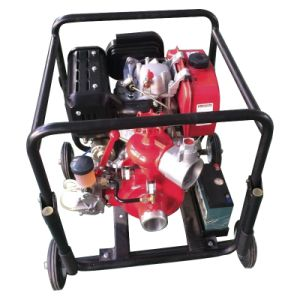 Diesel Fire Fighting Pump with Housing Frame and Wheels Bj-9b pictures & photos