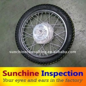 Motorcycle Spare Parts Quality Check / Inspection Service pictures & photos