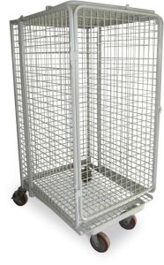 Warehouse Equipment Wire Mesh Roll Storage Cage pictures & photos