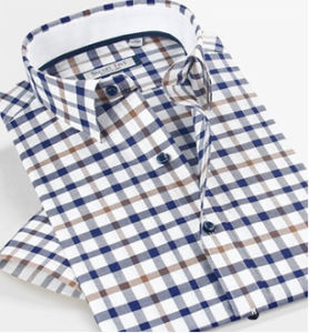 High Quality Cotton Mens Summer Shirt pictures & photos