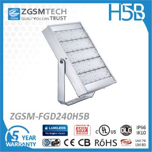 Factory Wholesale 240W High Power LED Stadium Lighting with Super Bright pictures & photos