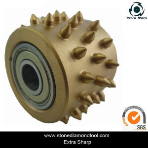 Diameter Granite Bush Hammer Roller for Surface Grinding pictures & photos