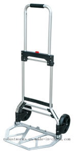 Aluminum Foldable Hand Truck (HT022D) pictures & photos