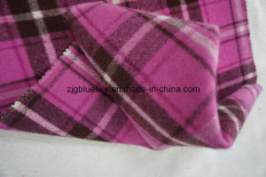 Wool Fabric Woolen Fanric for Overcoat Plaid pictures & photos